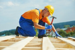 A building firm has been fined after a worker was seriously injured.