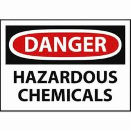 Building Code Hazardous Chemicals Handling