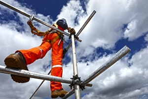 Are you aware of the risks of using scaffolds?