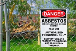 Asbestos is a serious danger on construction sites.