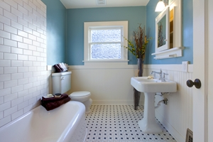 Could your bathroom contain asbestos products?
