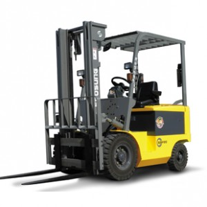 a man giving forklift safety training