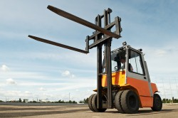 Forklift safety training is extremely important.