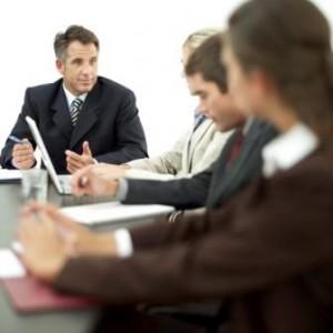 office leadership training session